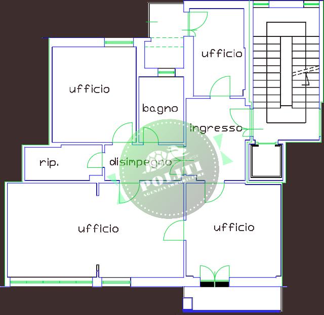 empoli appartamento uso ufficio trasformabile in civile abitazione