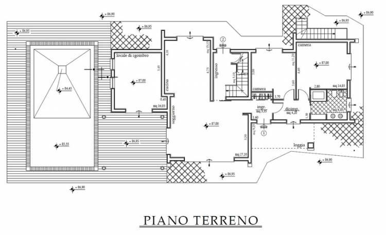 villa-sammontana-planimetria