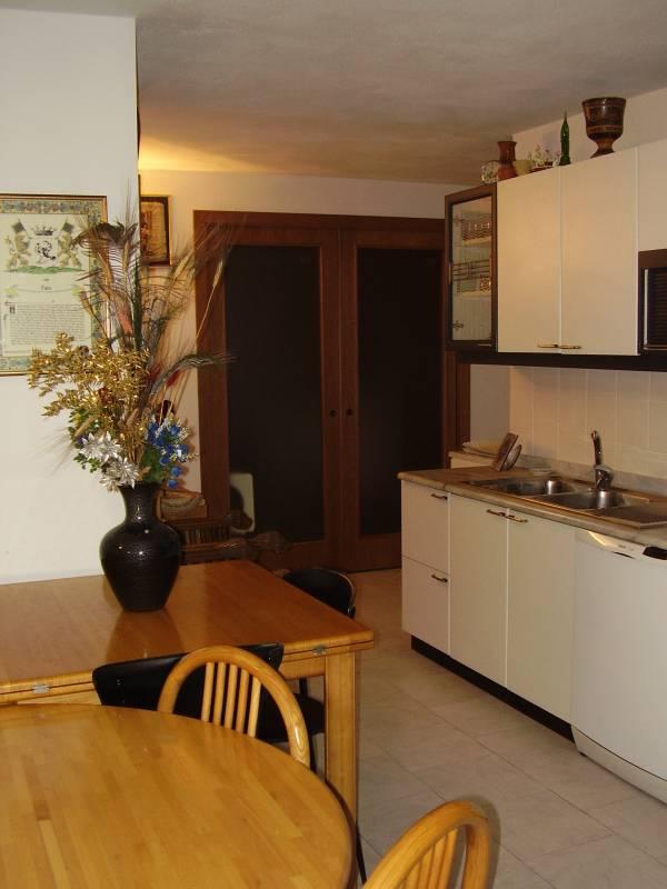 Vendesi appartamento con ampio giardino porticato e taverna