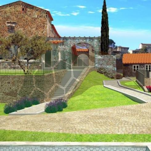 Montelupo-Carmignano-ingresso-complesso-colonico